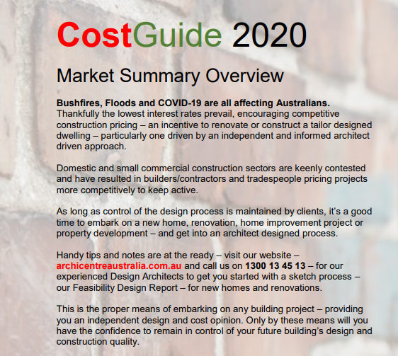 Construction Cost Guide